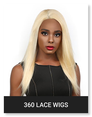 VIRGIN HAIR 360 LACE WIG
